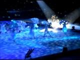 Ледовое шоу Снежная королева. Выход оленя